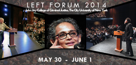 Left Forum is May 30th through June 1st
