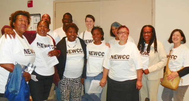 Members of the North End Woodward Community Coalition (photo: voiceofdetroit.net)