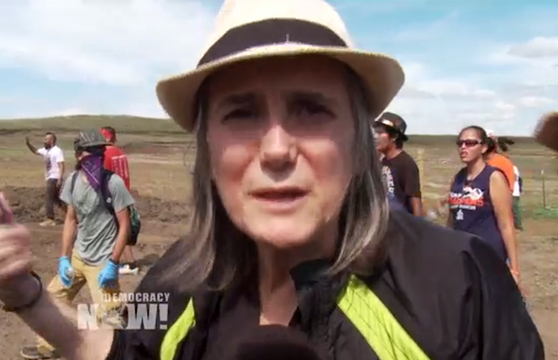 amy-goodman-pipeline-protest-620x412